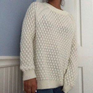 Ivory H&M Over-Sized Sweater